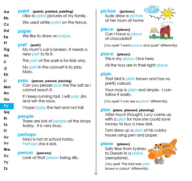 My First 500 Words Children's Dictionary - eBook version