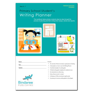 writing planner front cover
